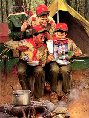 Boy Scout Camping Boys Life