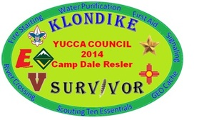 2014 Boy scout klondike patch
